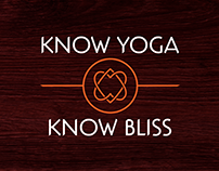Know Yoga, Know Bliss - Company Branding