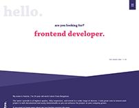 Personal Portfolio - Web