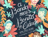 A Banda Mais Bonita da Cidade - Poster