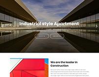 Intera - Interior Design & Architecture Website Templat