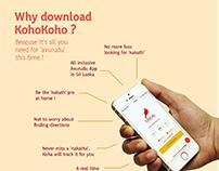 KohoKoho App_Infographics poster