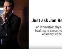Jon Belsher: Innovative Physician, Healthcare Executive