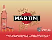 Martini & fashion camp event