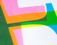 Letterpress + Silkscreen