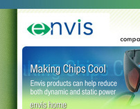 envis website design