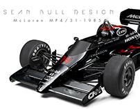 F1 1980's Reverse Retro