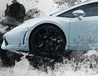 Lamborghini Gallardo // Poster Design