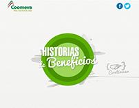 Historias de beneficios Coomeva