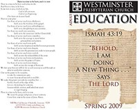 Adult Education Booklet 2009