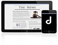 Jennifer Dutton Design (professional website)