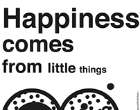 Happiness comes from little things