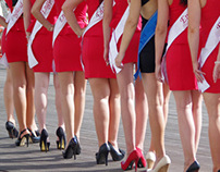 Miss European 2012 - photoshoot at the Albufeira Marina