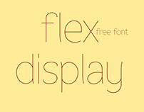Flex Display - free fonts