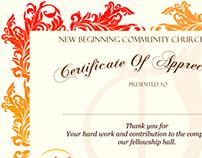 NBCCOG Certificate