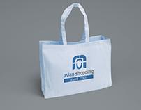 Logo and Shopping Bag design for Asian Shopping Mart