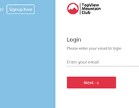 Login Form | Two Column Layout | Web Design