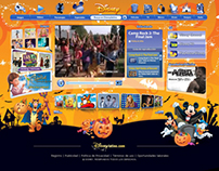 Disneylatino/br - Home Backgrounds