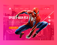 Spider Man PS4 / Design UI/UX