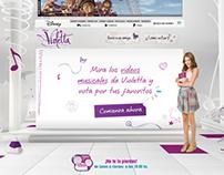 Disney - Violetta Cliptástico