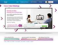 Cisco Microsite & Banner campaign