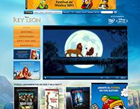 """Disney - Sitio DVD - """"El Rey León 3D"""""""