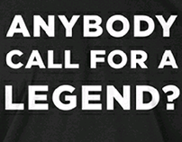 Anybody Call for a Legend?