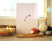 Simple Christmas Card design