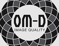 Olympus Cameras OM-D Tech Logo Concepts