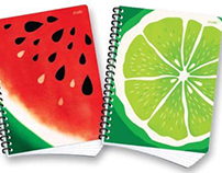 Note Book Fruits 2