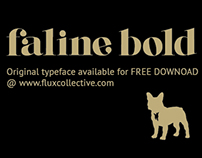Original Typeface: Faline Bold