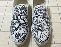 Artistic shoes