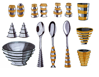 STACKED kitchenware range