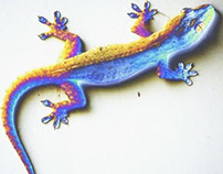 lizard color