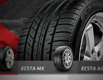 Kumho Tires Website