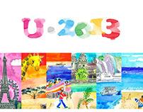 U-tour Calendar 2013