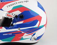 Simon Liao 2012 Helmet Design