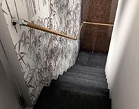 Stairway - sushi restaurant - Aachen, Germany