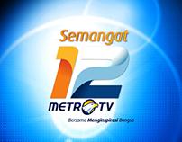 Anniversary IDENTS Metro TV 2012