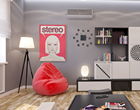 TEENAGER'S ROOM