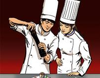 La cuisine, des métiers, une passion