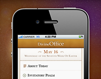 Divine Office: iPhone, iPad app and Website