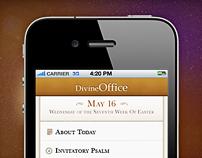 Divine Office: iPhone, iPad app and Website