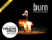 Burn Energy website ran in 10 countries for 5 years