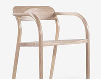 Curvas dining chair