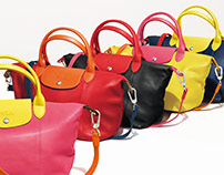 Longchamp / Leaflet Pliage Personnalisable