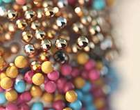 12500 Spheres SKULL