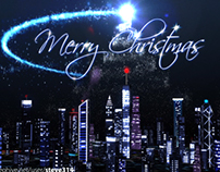 Christmas over the City! After Effects festive project