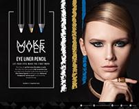 Make Over Eyeliner Pencil #StareStruck