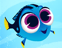 Finding Dory Fan Art