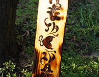 Wood Spanking Paddle